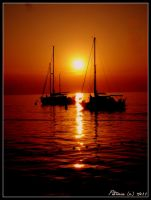 When the sun goes down... by anchiix