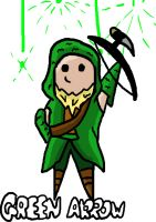Green Arrow chibi by Chibex