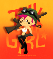 Tank Girl by Thiefoworld
