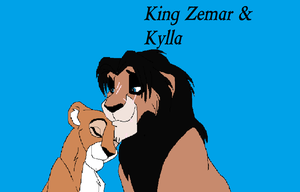 King Zemar and Kylla in Love by Aura-Q