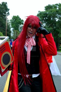 Grell Sutcliff by PLOMcosplay