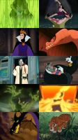 Top Ten Disney Villains by ForeverFallen16