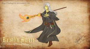 Wallpaper - Raistlin V2 by talespirit