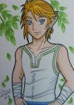 Link ACEO card 1 by LadyNin-Chan