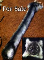 Tail and mask (SOLD) by omtay