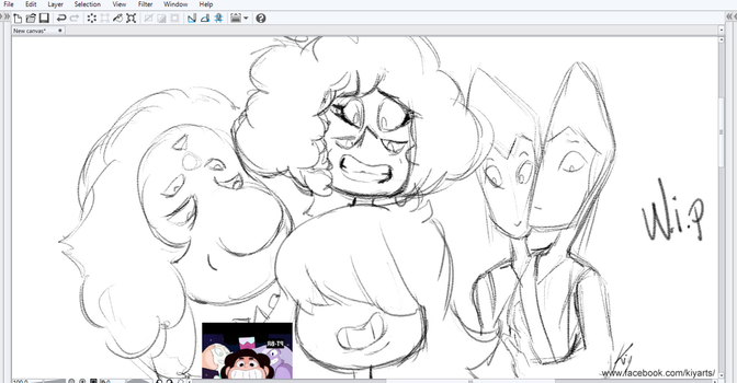 WIP Steven Universe New Gems Homeworld OP by iKiy