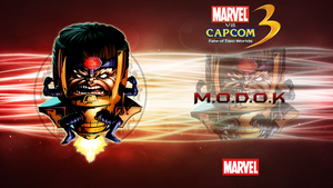 Marvel VS Capcom 3 MODOK by CrossDominatriX5