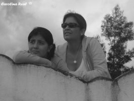 Mom and Daughter by Avril000Carolina