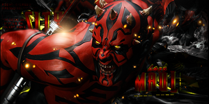 Darth maul by AshHaZe