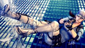 Jill Valentine: Leap of Faith by LoneWolf117
