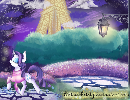 Painting the Town Lavender by Animechristy