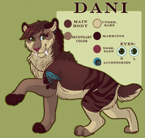 Dani Reference by catfarts