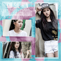 -PHOTOPACK #01 KIM SAE RON by RollDeep-Photopacks