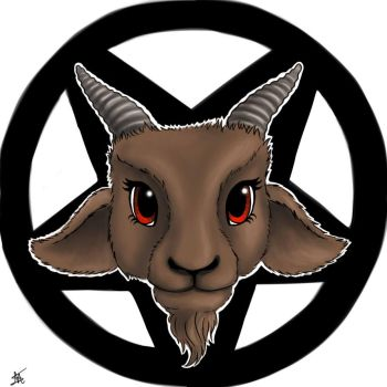 My little Baphomet by Nyffetyff
