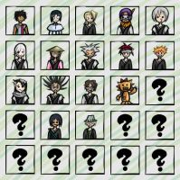 Bleach smiley icons by Misao-Citrus