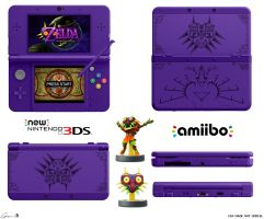 Majora's Mask New-3DS by Sharindan-dragon