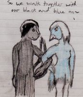 Black and Blue by coyearth