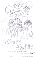 'Gross Kratts' theatrical poster by LaCatrinita