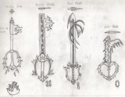 Drive Form Keyblades Set 2 by RyoDestined