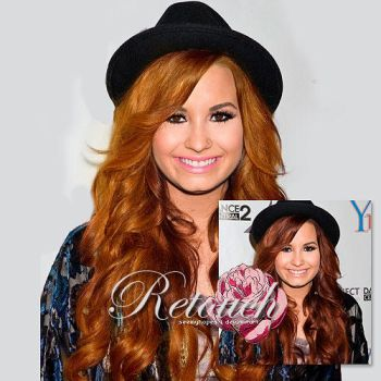 Demi retouch by closinginside