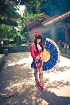 Dynasty Warriors cos: Serenity by Ceraphic