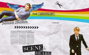 The Mentalist with Simon baker by Anthony258