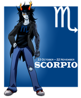 You Are Scorpio by chickenMASK