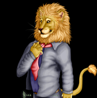 Mr Lion by nagowteena101