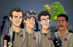 Ghostbusters - Saving the Day by b-maze