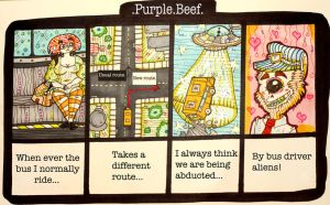 Purple beef 35 by PickledAlice