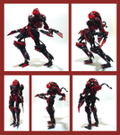 Bionicle MOC - Grind Star by Alex-Darkrai