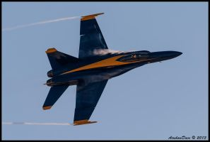 Blue Angel High Speed Pass II by AirshowDave
