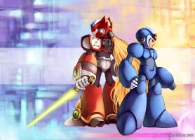 Rockman ExNull v2 by Remainaery
