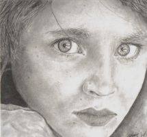 Afghan Girl by truly-devoted