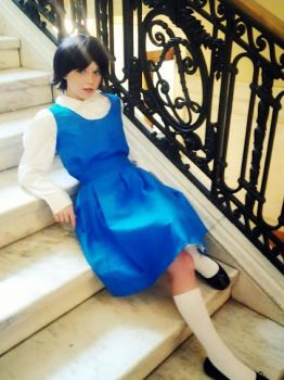 Akane Tendo (Full)-Ranma 1/2 cosplay by Heidirae1