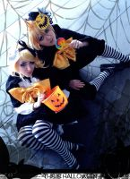 Rin+Len - This is Halloween by ClamWings