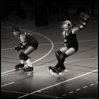 Roller Derby III by A-Parrot