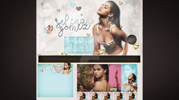 Premade for blog.cz (Selena Gomez) #14 by dailysmiley