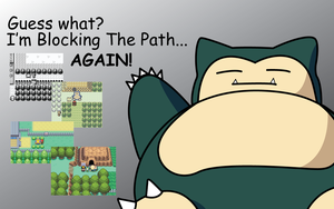 Snorlax is back by shadow306k