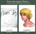 Before and After: Improvement Meme by DjRoguefire