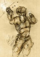 Grifter quick sketch by SaintYak