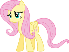 Fluttershy Vector Trade Ya - (Full Body) by Vulthuryol00