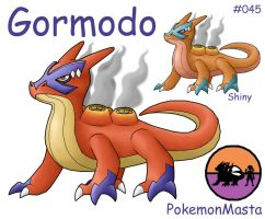 Gormodo 045 by PokemonMasta