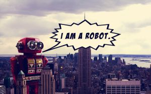 I AM A ROBOT. by harmonia