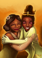 Eudora and Tiana by Whitestar1802