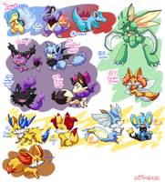 PKMNation :: Clutch dump by FENNEKlNS