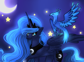 Princess Luna's Pet by Kitsurie