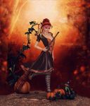 Autumn Witch by Frollein-Zombie