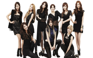 Girls Generation (SNSD) PNG [Render] by GAJMEditions