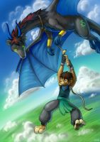 Dragon Tamer by jrtracey